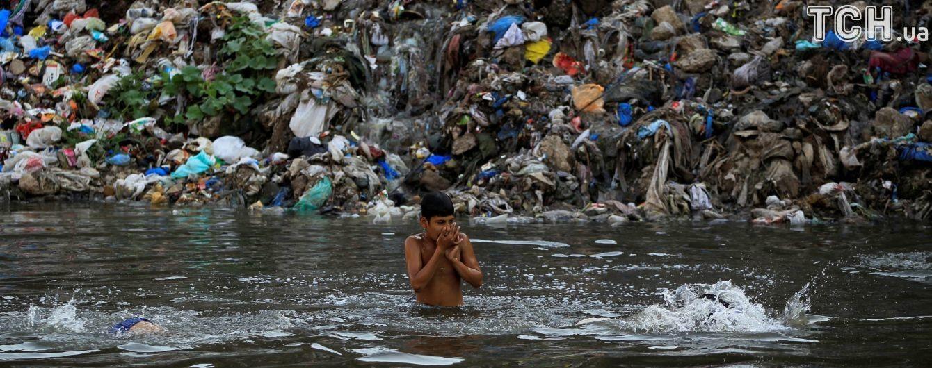 Уровень загрязнения мирового океана в инфографике