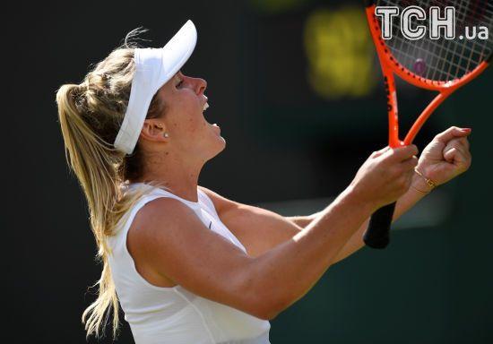 Світоліна вперше у кар'єрі вийшла у третє коло Wimbledon