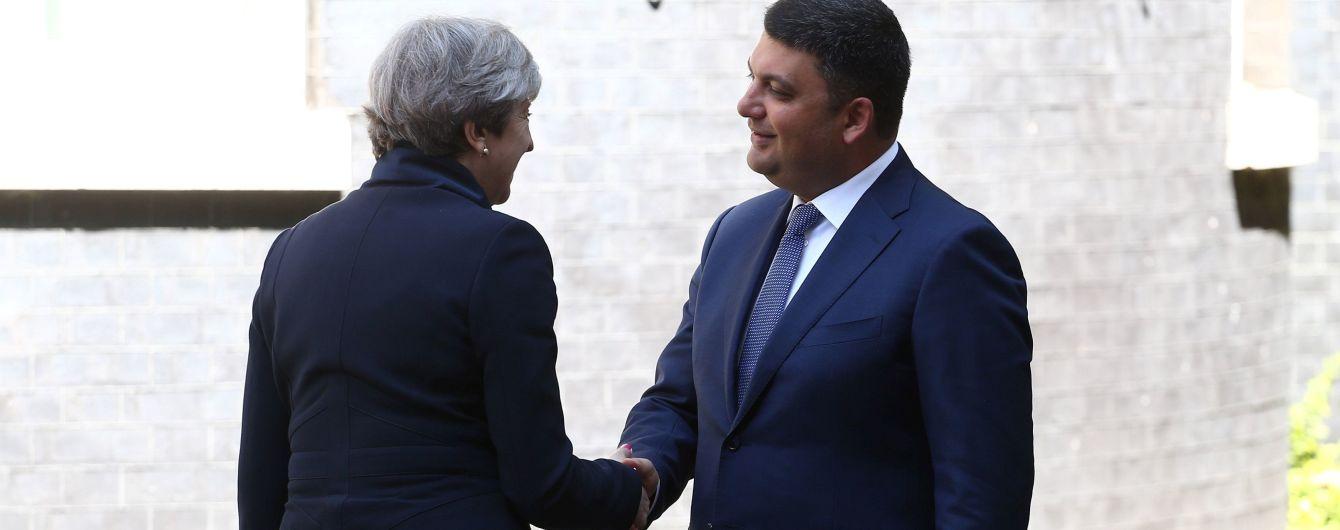 Мей прийняла Гройсмана, попри непростий політичний момент для Британії