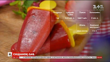 Клубничный сорбет с мятой - рецепты Эдуарда Насырова