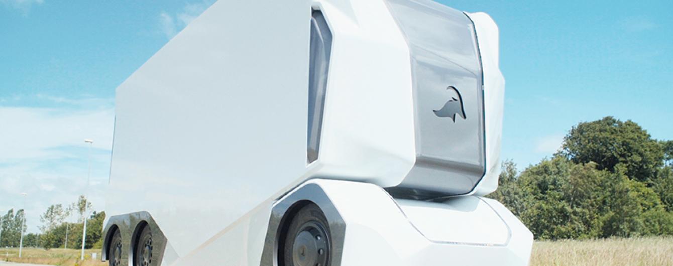У Швеції розробили безпілотну електричну вантажівку