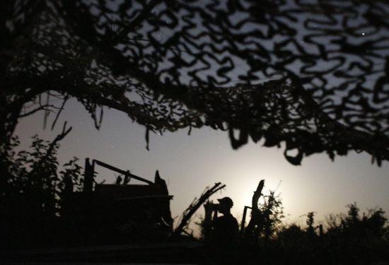 За добу жоден український військовий не постраждав - штаб АТО