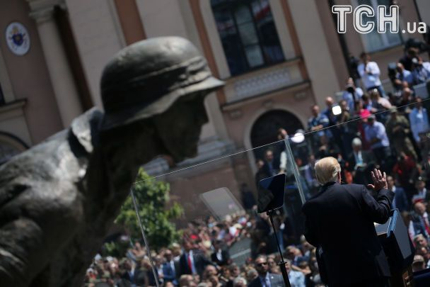 Припинити дестабілізацію України: Трамп під час промови у Варшаві звернувся до РФ