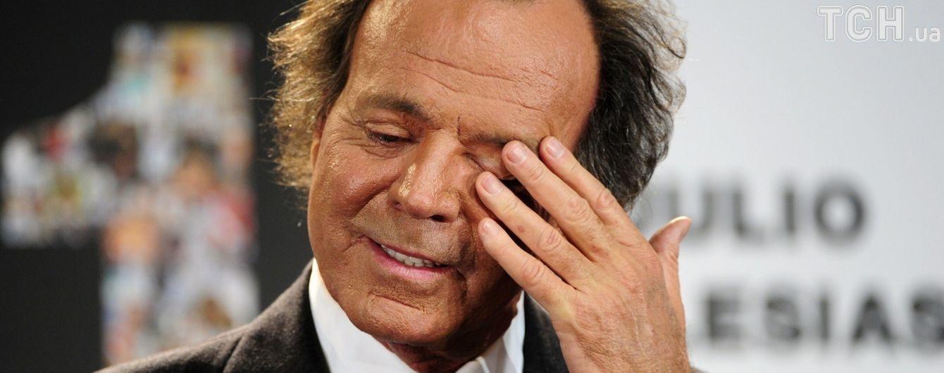 У 73-летнего Хулио Иглесиаса нашелся внебрачный сын – СМИ
