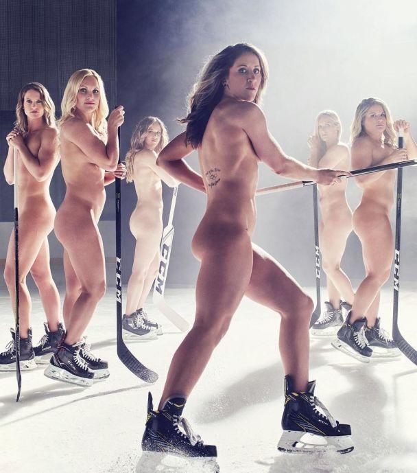 Хоккеистки сборной США обнажились для спортивного журнала