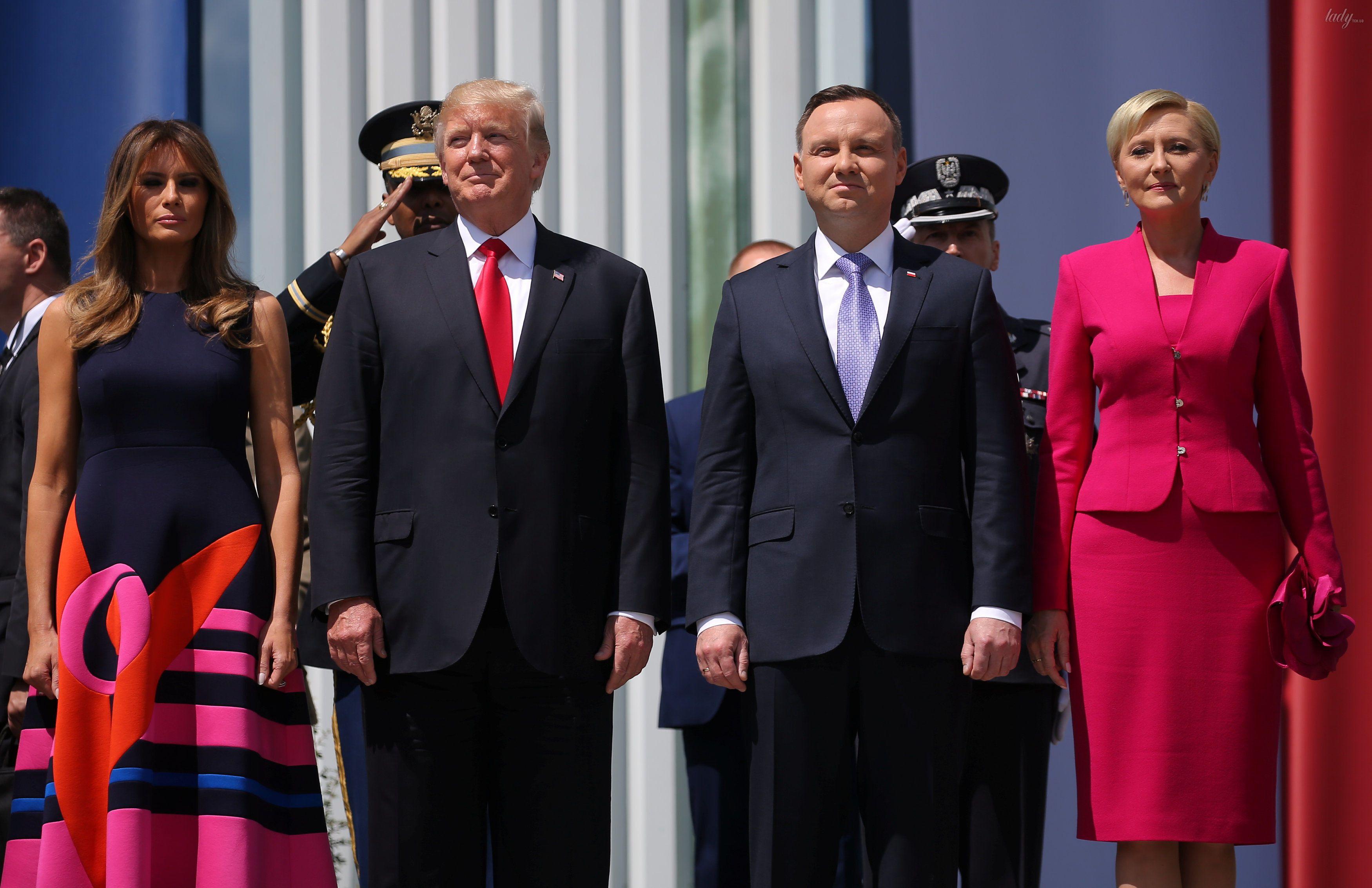 Мелания Трамп и Агата Корнхаузер-Дуда_4