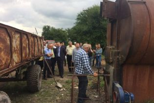 На Львівщині продемонстрували прототип сміттєспалювального заводу