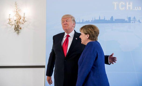 Україна і КНДР: про що говорили Меркель і Трамп перед початком G20
