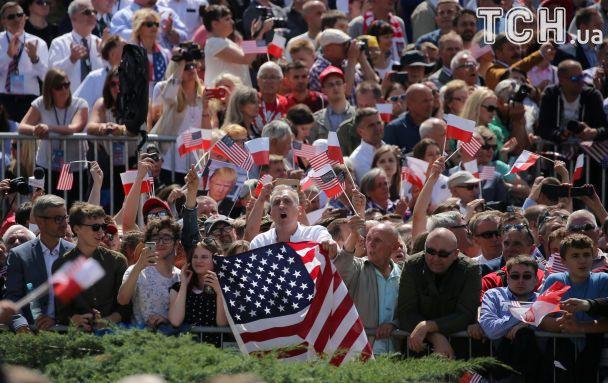 Прекратить дестабилизацию Украины: Трамп во время выступления в Варшаве обратился к РФ