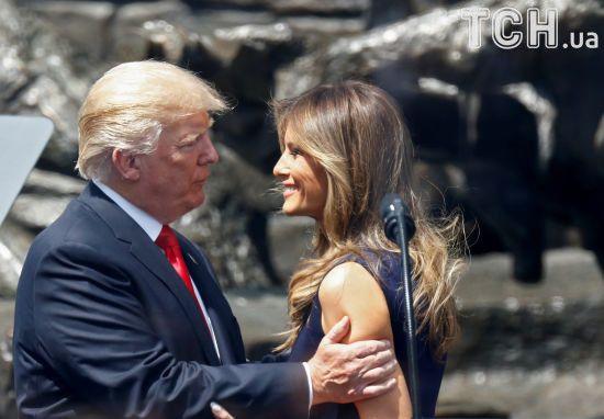 Меланія Трамп спробувала забрати чоловіка-президента зі зустрічі з Путіним - ЗМІ