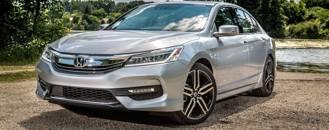 В Украину приехал обновленный Honda Accord