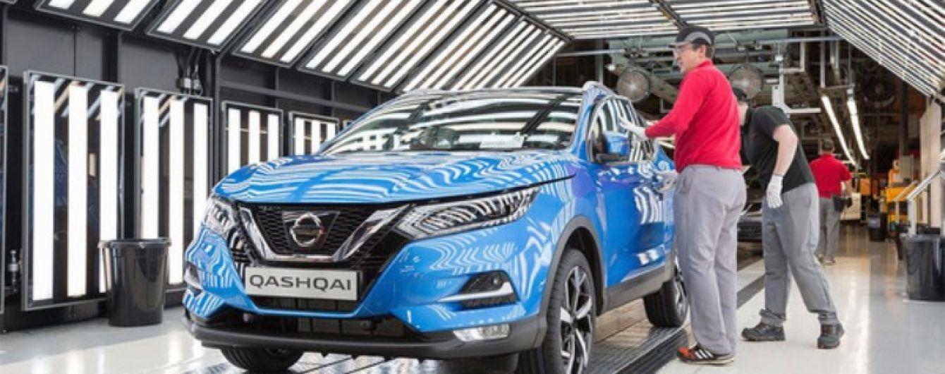 В Британии начался серийный выпуск обновленного Nissan Qashqai