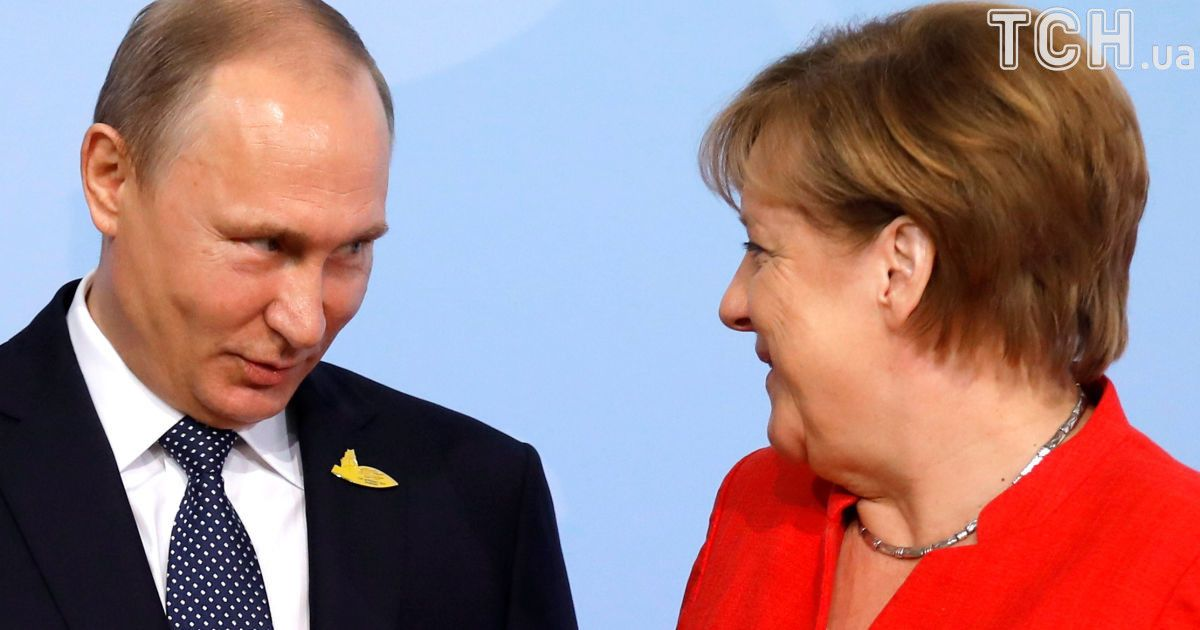 Владимир Путин и Ангела Меркель @ Reuters