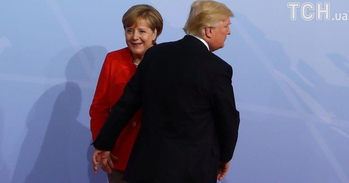 Ангела Меркель и Дональд Трамп @ Reuters