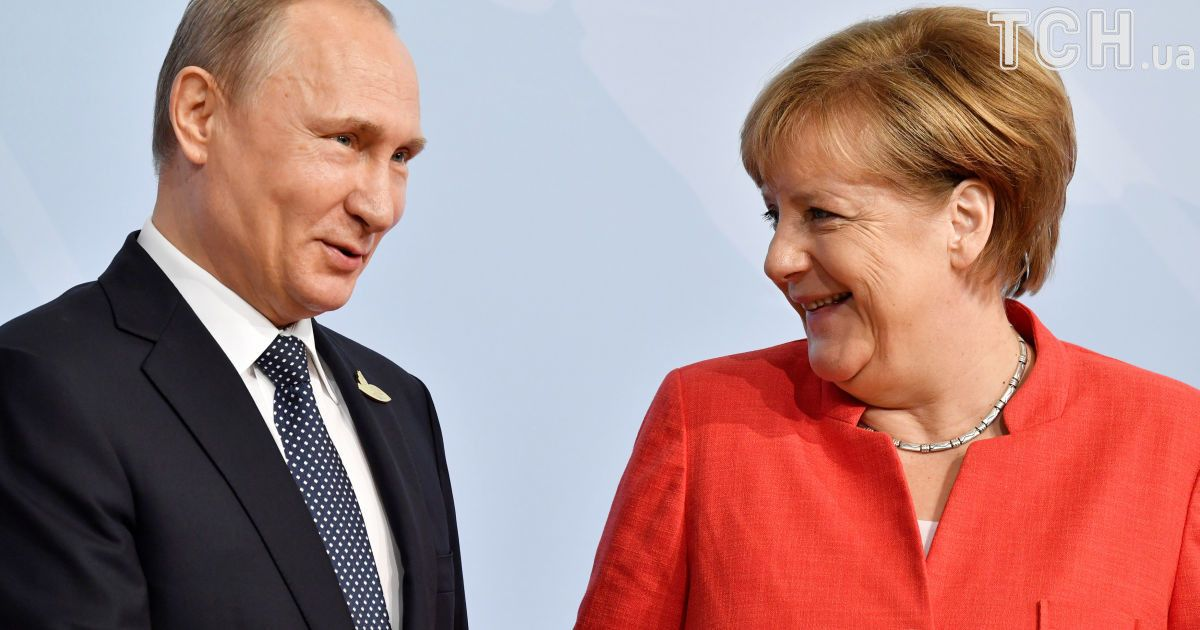Володимир Путін та Ангела Меркель @ Reuters
