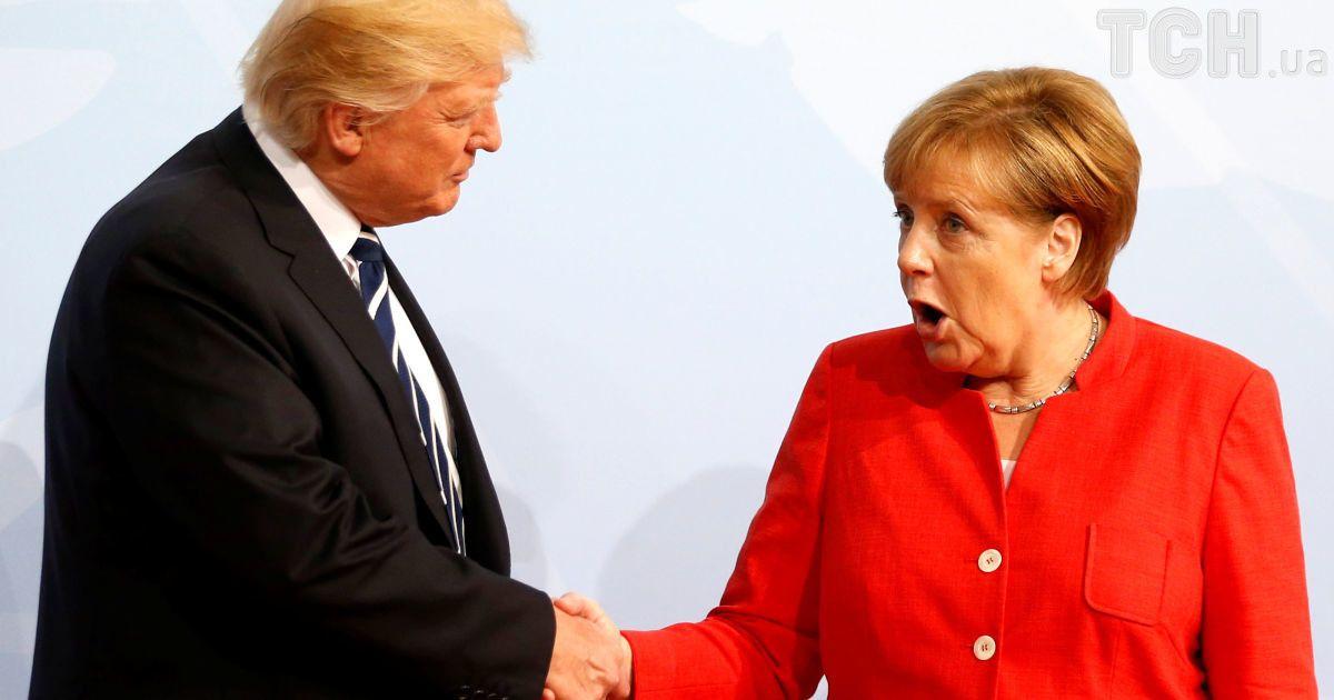 Дональд Трамп и Ангела Меркель @ Reuters