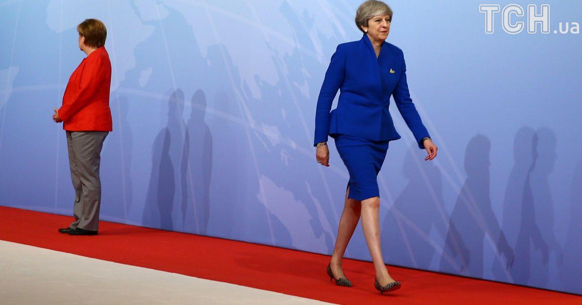 Премьер-министр Британии Тереза Мэй @ Reuters