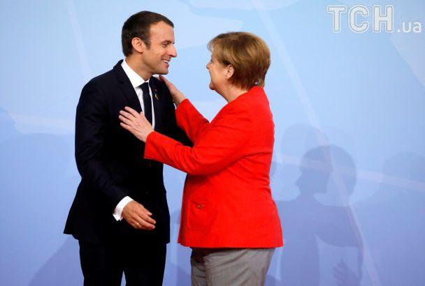 """Объятия, взгляды и поцелуи. В Гамбург слетелись представители """"Большой двадцатки"""""""