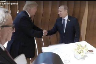 Трамп и Путин впервые пожали друг другу руки в кулуарах G20