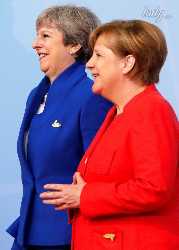 Тереза Мэй и Ангела Меркель_2