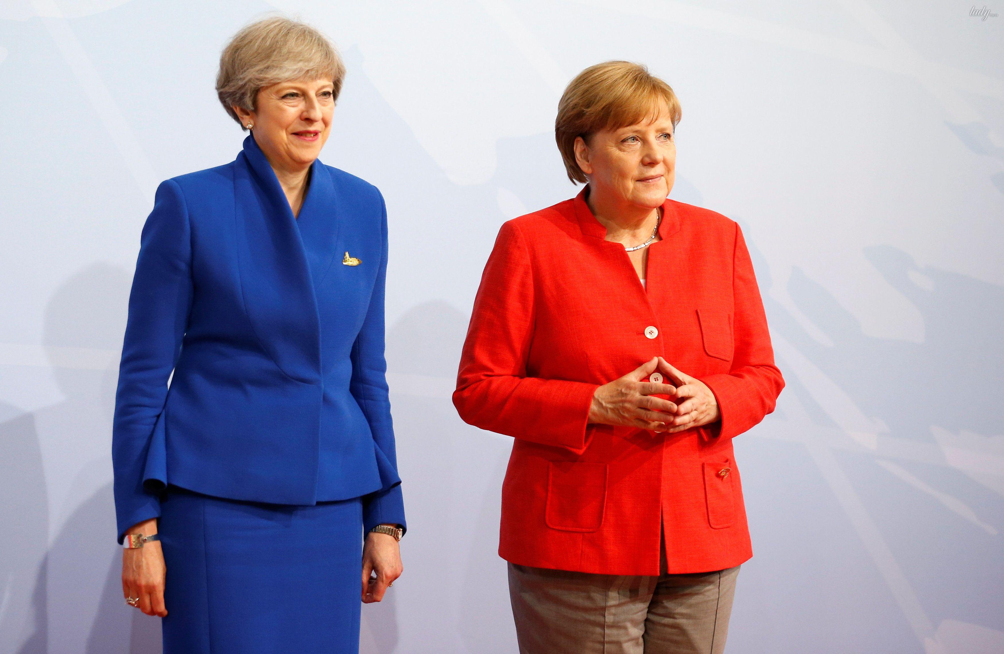 Тереза Мэй и Ангела Меркель_1