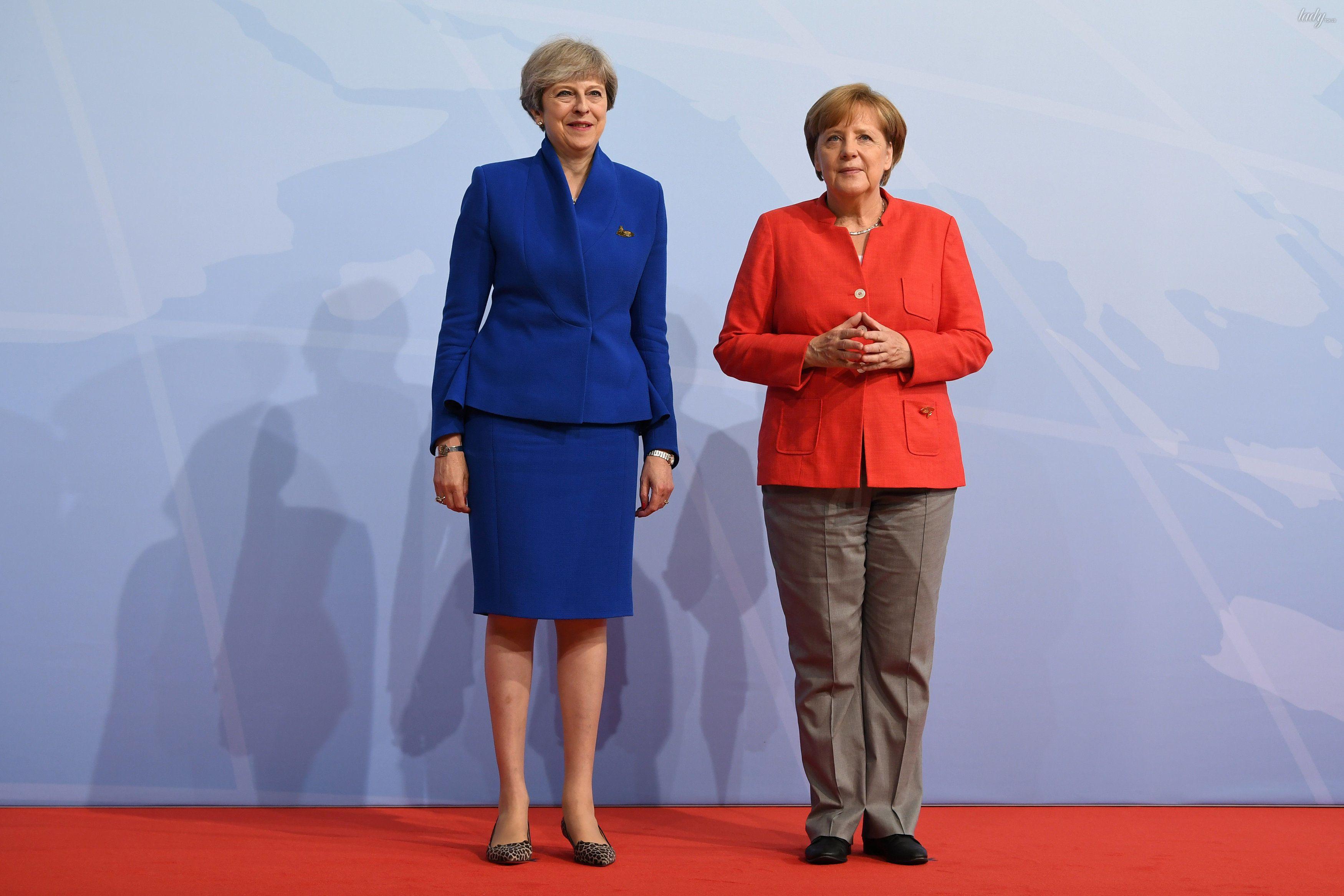 Тереза Мэй и Ангела Меркель_4