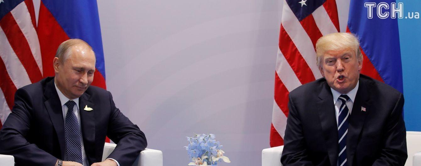 """""""Я дважды надавил на Путина"""": Трамп рассказал о своей первой встрече с президентом РФ"""