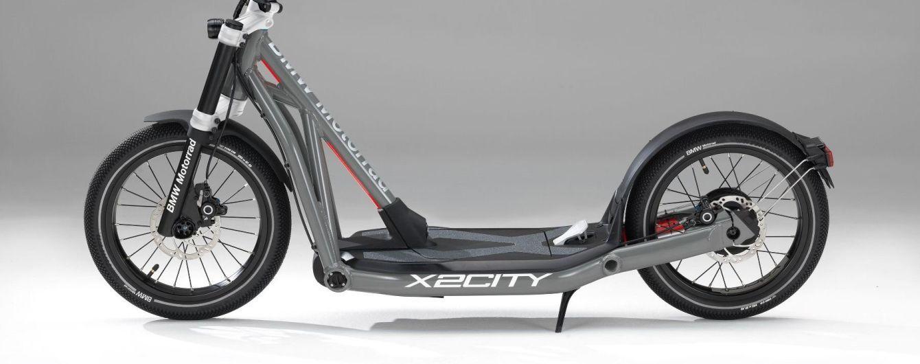 Баварцы представили электросамокат  BMW X2City