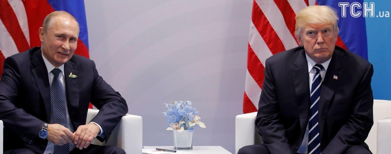 Під час зустрічі з Путіним Трамп поцікавився втручанням РФ в американські вибори - Тіллерсон