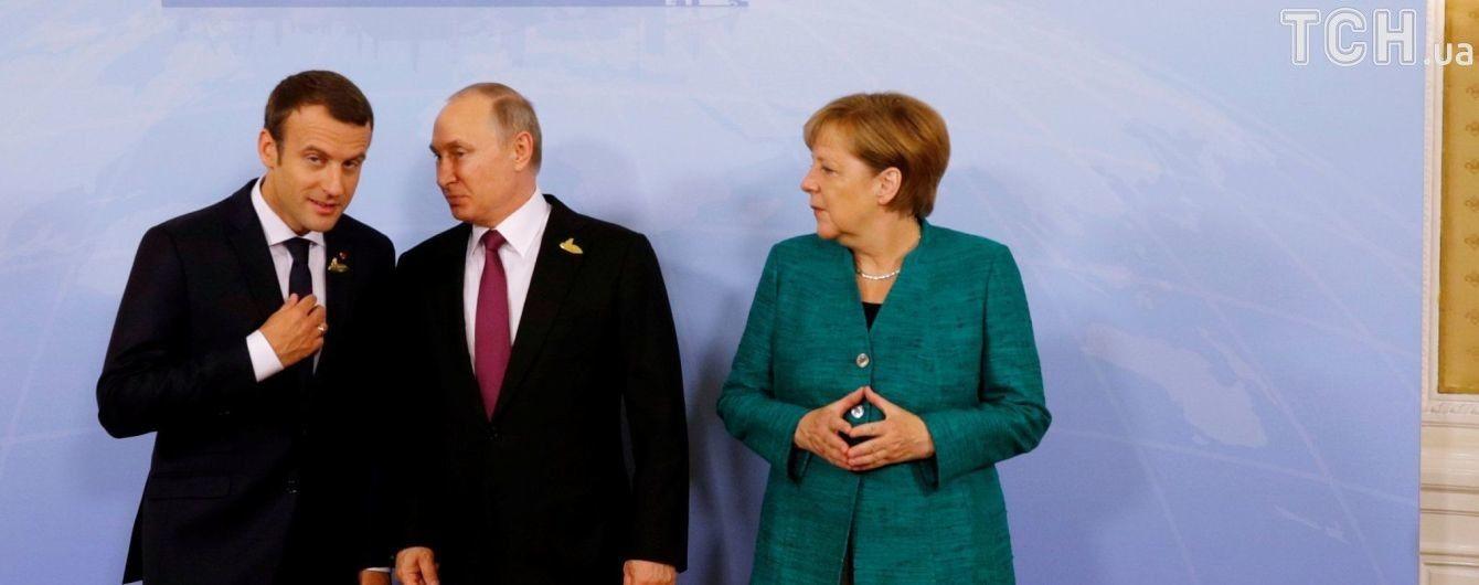 """У Кремлі повідомили про домовленість готувати чергову розмову """"нормандського формату"""""""