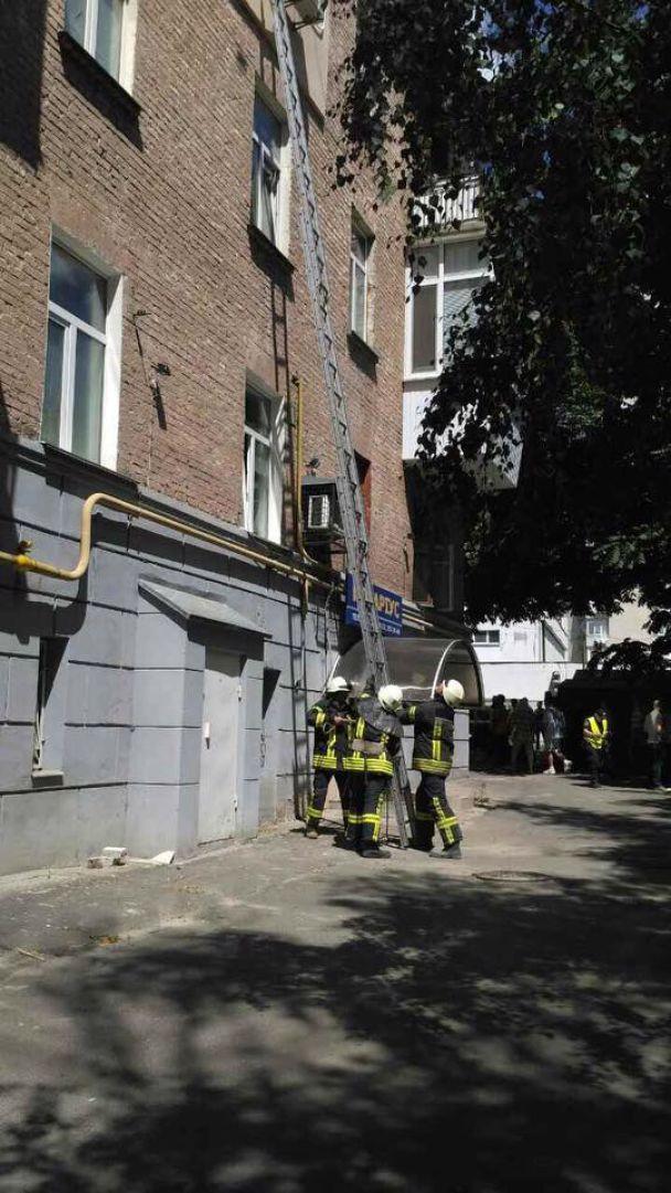 На місце вибуху у Києві приїхали Аваков та Князєв