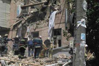 Постраждала від вибуху у Києві померла у швидкій