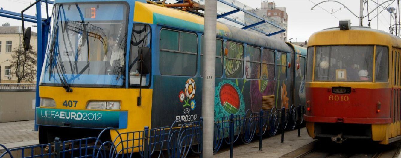 В Киеве хотят продлить трамвайную линию от железнодорожного вокзала