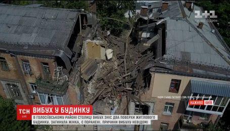 Взрыв жилого дома в Киеве: спасатели сообщили сообщили о найденном теле второго погибшего