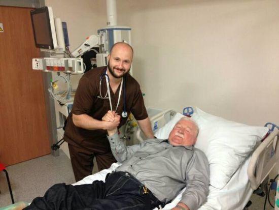 Екс-президента Польщі Леха Валенсу госпіталізували до лікарні
