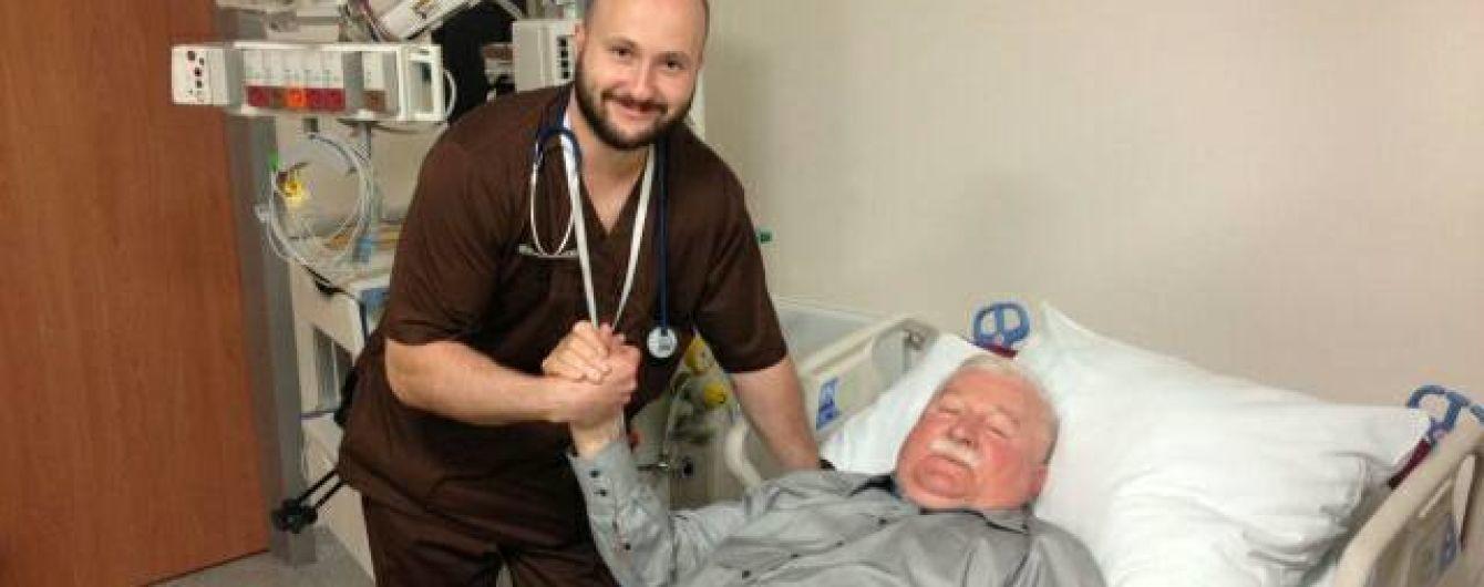 Экс-президента Польши Леха Валенсу госпитализировали в больницу