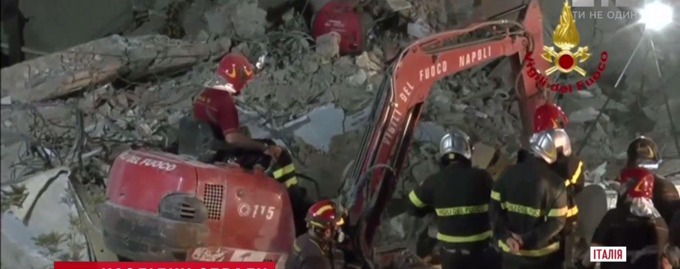 Обвал дома в Неаполе оборвал шесть взрослых и двое детских жизней