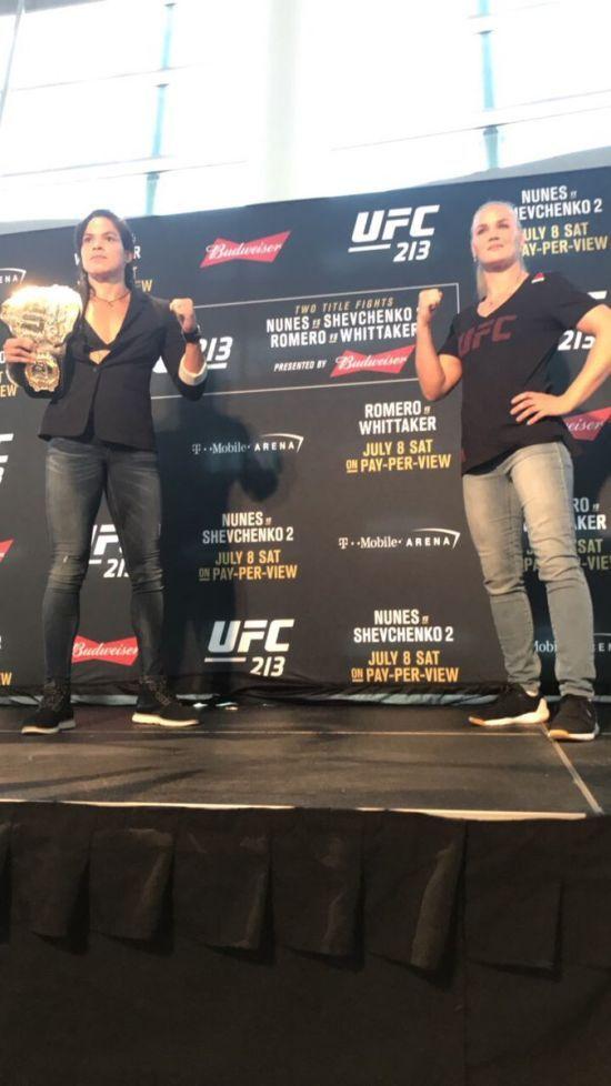 Поєдинок UFC 213 скасований через госпіталізацію чинної чемпіонки