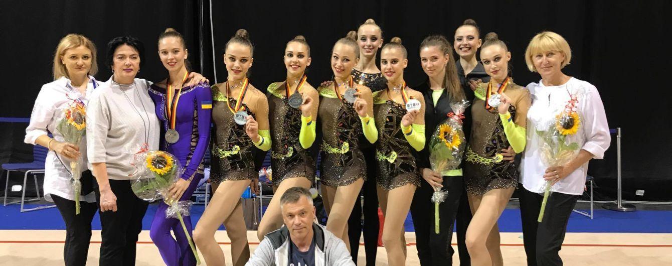 """Українські гімнастки завоювали """"срібло"""" на етапі Кубка світу в Берліні"""