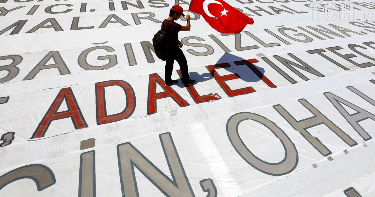 """""""Марш справедливости"""" в Стамбуле @ Reuters"""