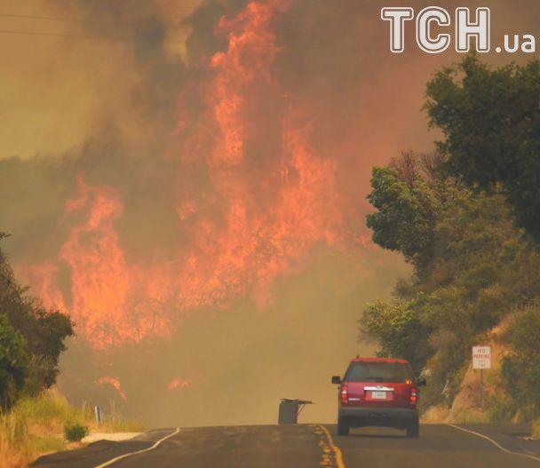 Стовпи диму і сильний вогонь: у США вирують масштабні пожежі
