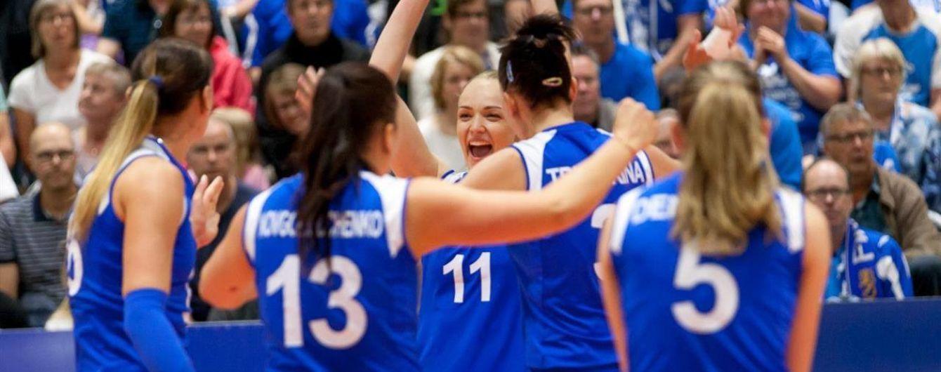 Українська жіноча збірна вперше в історії виграла волейбольну Євролігу