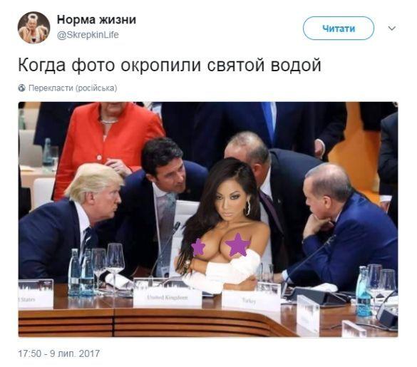 фотошоп-батл навколо порожнього стільця на саміті G20