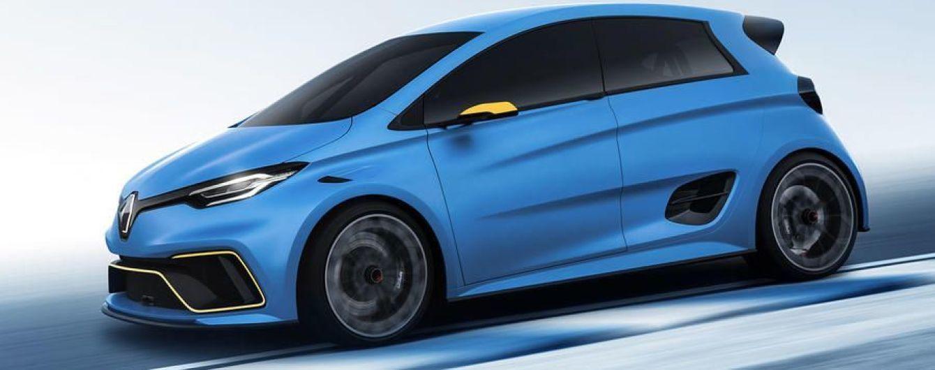 Renault планирует выпустить сверхмощную версию электрокара Zoe