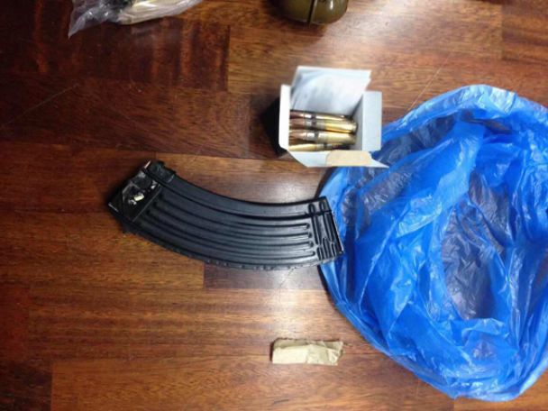 В Кропивницком изъяли наркотики на миллион гривен и арсенал оружия