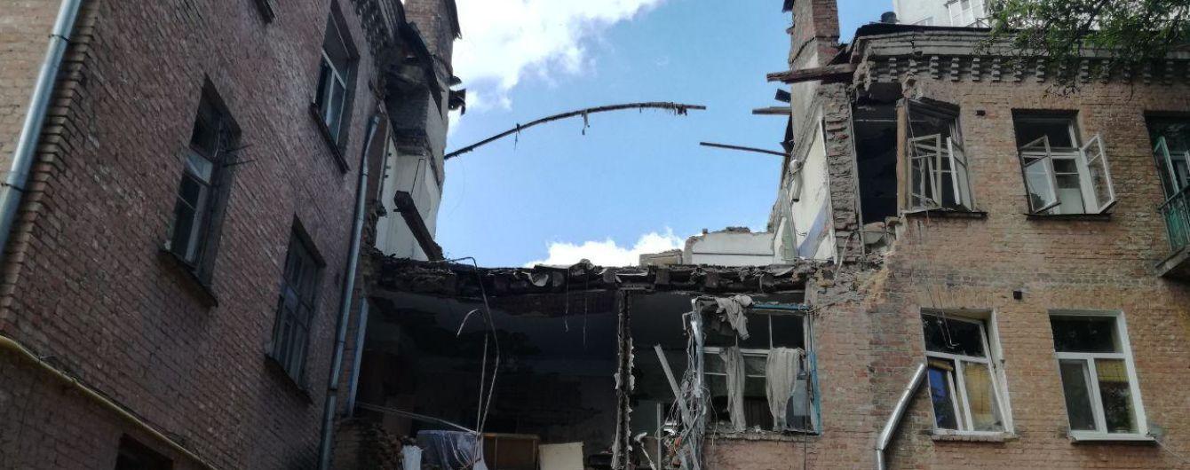 Зруйнований вибухом будинок у Києві знесуть - КМДА