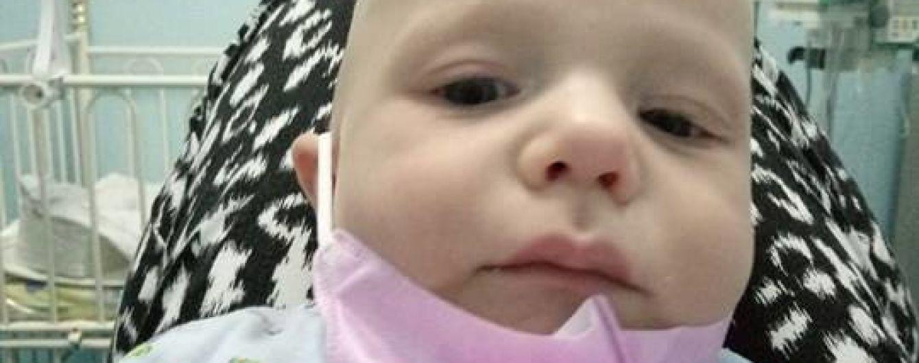 3-місячний Давид потребує негайної допомоги