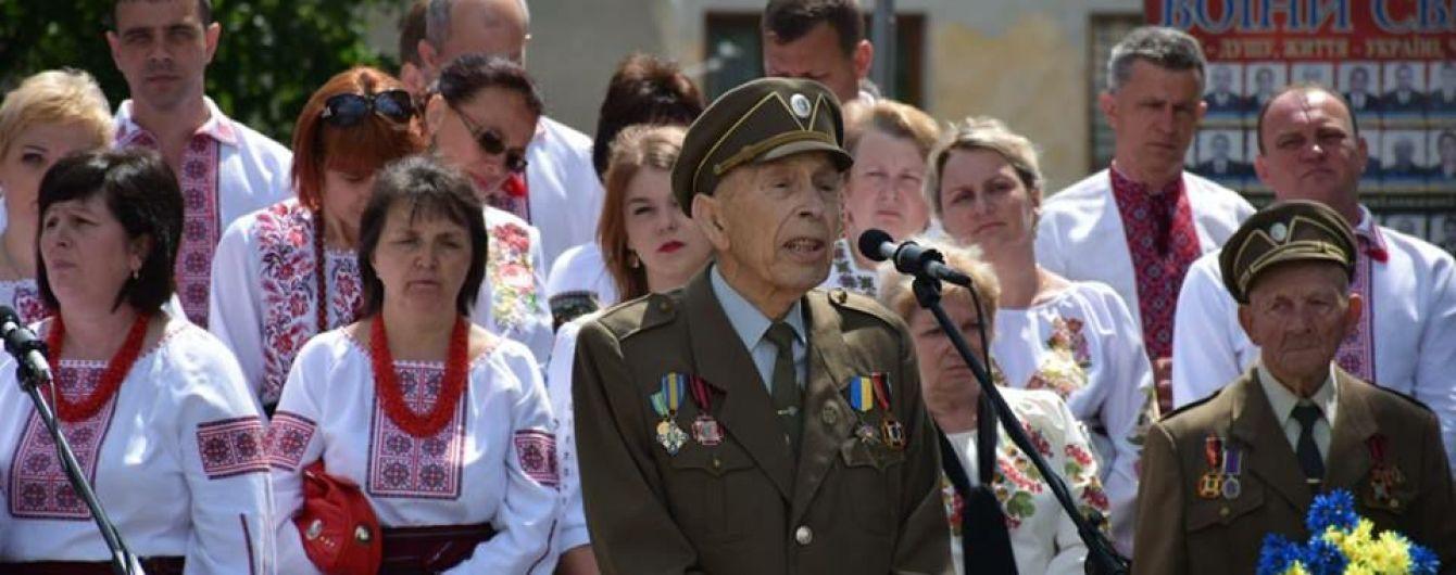 На Львовщине во время речи в честь Шухевича умер глава районного братства ОУН-УПА