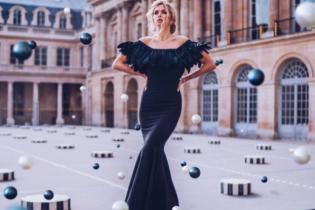 В пышном платье с обнаженной спиной: Вера Брежнева снялась в новой фотосессии