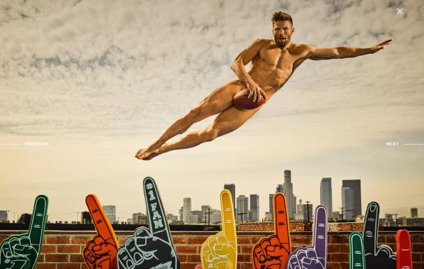 Известные спортсмены показали обнаженные тела для календаря ESPN